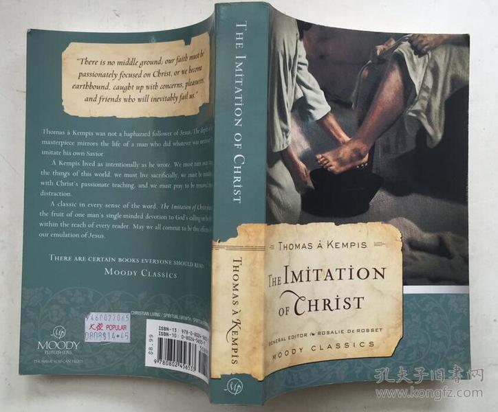 The Imitation of Christ 效仿基督