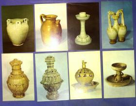 360010182中国历史博物馆藏瓷器明信片一套10张
