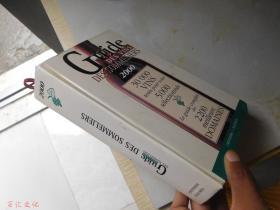 Guide Des Vins Des Sommeliers 2000【大32开精装 英文原版】