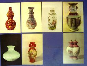 360010189故宫博物院藏陶选明信片一套10张