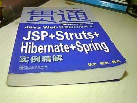 贯通Java Web轻量级应用开发