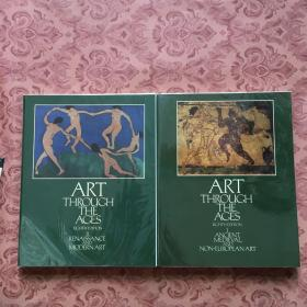 ART THROUCH THE ACES EIGHTH EDITION 【1、2】 ANCIENT MEDIEVAL AND NON EUROPEAN ART【两本合售,具体请看图,以图为准】