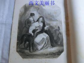 【现货 包邮】《苏格兰》Scotland   美女版画 1850年代钢版画 尺寸36×25.8厘米 出自 FINDENS GALLERY MODERN ART  (货号T2)