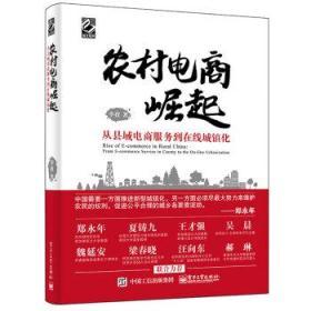 正版送书签ui~农村电商崛起——从县域电商服务到在线城镇化 9787