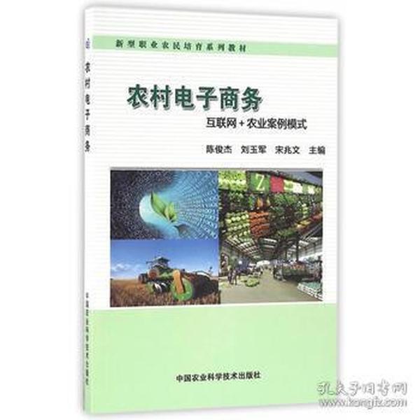 正版送书签ui~农村电子商务 9787511626134 陈俊杰,刘玉军,宋兆文