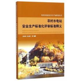 正版送书签ui~农村水电站安全生产标准化丛书:农村水电站安全生产