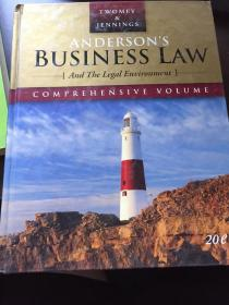 Andersons Business Law(英文原版)