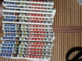 蛭田达也漫画《新功夫旋风儿》(柔道篇) 1一19合售