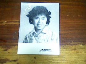 老照片 2寸女青年74年