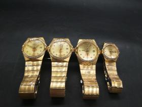 欧米茄定制手表(李雪松,李烈钧,李桂花,陈玉祯)四个一套总重532g代理转图可以加价,运费自理。