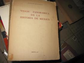 VISION PANORAMICA DE LA HISTORIA DE MEXICO