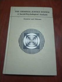 THE CRIMINAL JUSTICE SYSTEM -A Social-Psychological Analysis