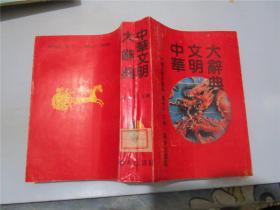 中华文明大辞典:普及本