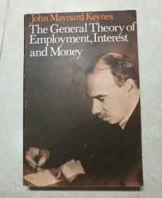 The General Theory of Employment, Interest and Money 小16开英国原版《就业、利息与货币的一般理论》名家私藏