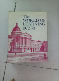 the world of learning 1972-73 精装布面