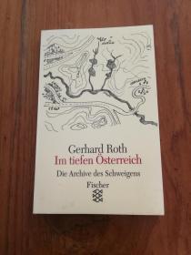 Im tiefen Österreich.(32开黑白和彩印画册,德文原版)