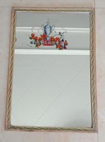 山西地方体育玻璃镜子----《为国争光、振兴中华》--高64厘米44厘米---虒人荣誉珍藏
