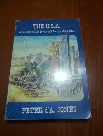 THE U.S.A., A History of Its People and Society since 1865(英文原版 美国。它的历史和人民 1865)