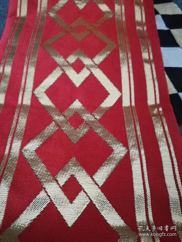 回流日本袋带正绢 刺绣