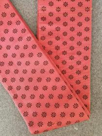 回流日本小带正绢刺绣