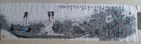 河北省美协理事,承德市美术家协会主席,画院院长王树立人物画