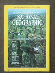 NATIONAL GEOGRAPHIC MARCH 1981?(带地图)