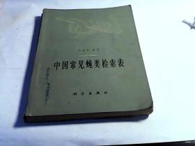 中国常见蝇类检索表 (65年一版印)