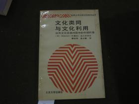 《文化类同与文化利用:世界文化总体对话中的中国形象》