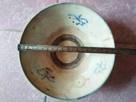 113 民国:【青花大碗】 民国陶器瓷器古玩收藏保真品包老