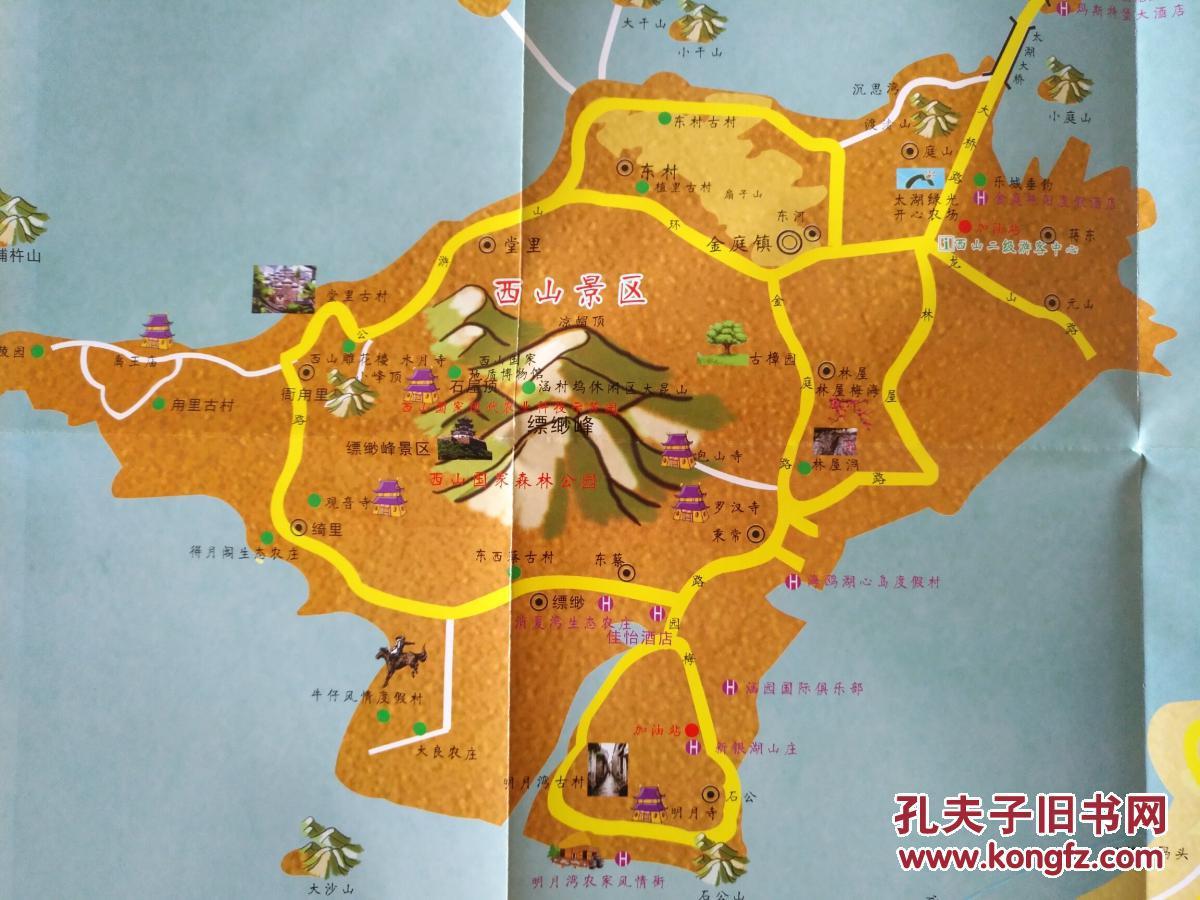 太湖旅游地图 太湖地图 太湖导游图 太湖观光图 苏州地图图片