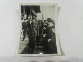 文革时期老照片(毛主席与林彪在天安门)(稀少)