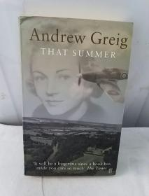 ANDREW GREIG THAT SUMMER