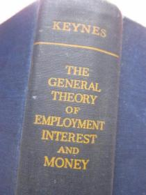 (英)凯恩斯keynes(英文原版) 《the general theory of employment interest and money》 就业利息和货币通论》【精装】