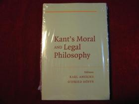 Kants Moral and Legal Philosophy
