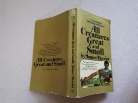 All creatures great and small 【实物拍图 扉页有笔迹】