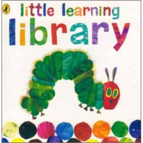 The Very Hungry Caterpillar Little Learning Library好饿好饿的毛毛虫