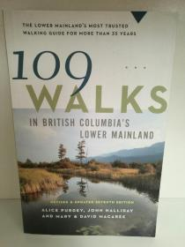 109 Walks in British Columbias Lower Mainland (旅游)英文原版书
