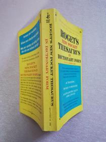 ROGETS NEW POCKET THESAURUS IN DICTIONARY FORM 【实物拍图】