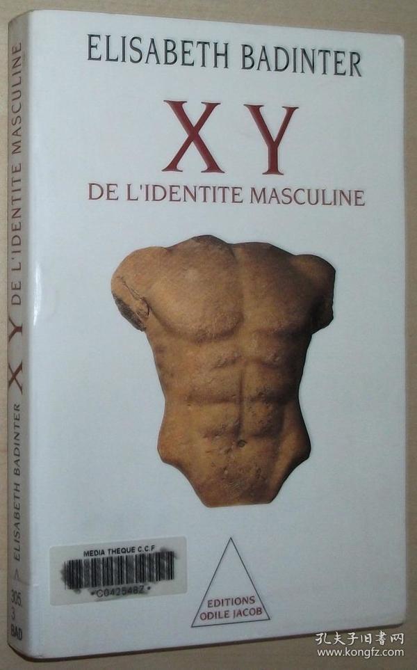 法语原版书 XY : De lidentité masculine 男性身份 男性之谜 Broché –1992 de Badinter Elisabeth