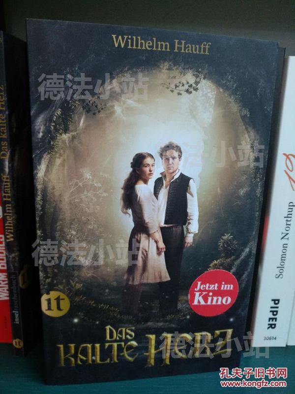 德文 德语 Das kalte Herz 冷酷的心 豪夫童话 德国原版