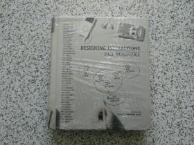 DESIGNING INTERACTIONS //BILL MOGGRIDGE  精装本、附DVD光盘  全新未翻阅