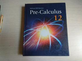 Pre-Calculus 12 【原版 16开 精装 彩印 】有笔迹