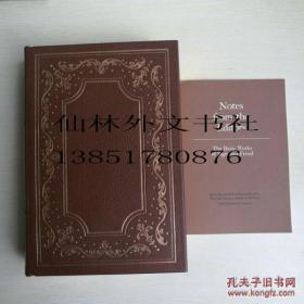 【包邮】1978年收藏版the basic works of sigmund freud 《弗洛伊德著作精要》 franklin library真皮限量 带 editor note精装