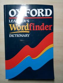 Oxford Learner s Wordfinder Dictionary