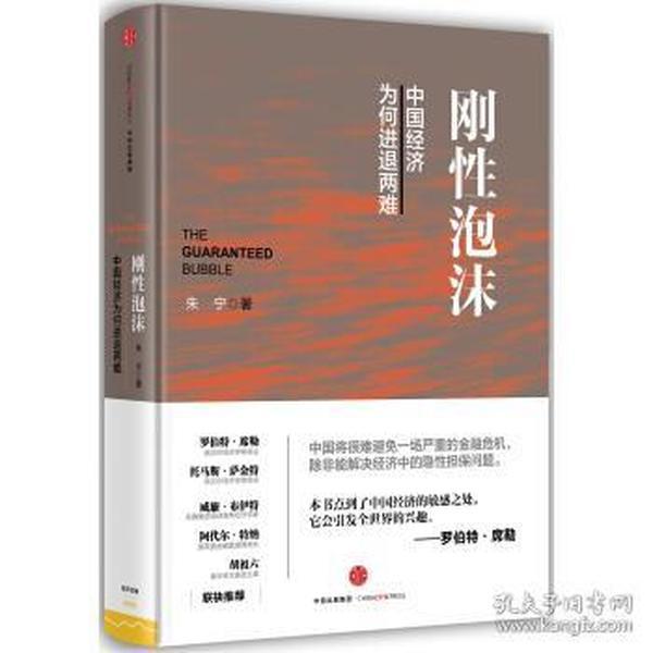 正版送书签ja~刚性泡沫 9787508656885 朱宁