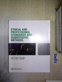 ETHICAL AND PROFESSIONAL STANDARDS AND QUANTITATIVE METHODS CFA Program Curriculum 2017.LEVELI.VOLUME 1 (022)