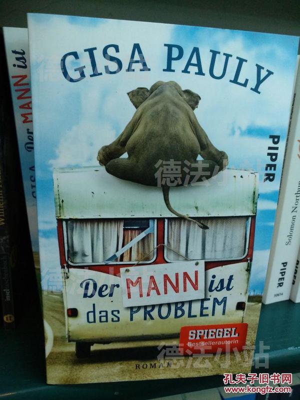 德文 德语小说 Der Mann ist das Problem 德国原版