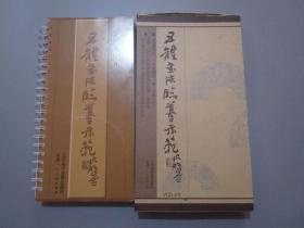 五体书法临摹示范【书法教学片/光碟VCD十张/有函套】