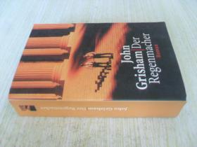 德文原版 约翰·格里森姆《造雨人》 DER REGENMACHER.JOHN GRISHAM