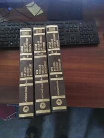 俄羅斯原版進口    新英俄詞典(全三卷) Novyi Bolshoi Anglo-Russkii Slovar / New English Russian Dictionary